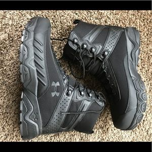Under Armour UA Black Boots Tactical Security